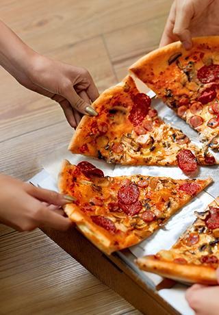 Livraison de pizzas ou pizzas à emporter à Compiègne