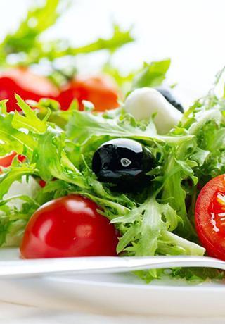 Les salades de notre restaurant pizzeria à Compiègne